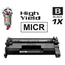 Genuine Original Hewlett Packard CF258XM MICR High Yield Laser Toner Cartridges