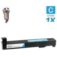 Hewlett Packard HP826A CF311A Cyan Inkjet Cartridge Premium Compatible