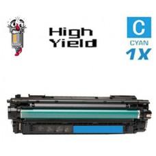 Genuine Hewlett Packard HP657X CF471X High Yield Cyan Laser Toner Cartridge