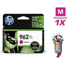 Genuine Original Hewlett Packard HP962XL High Yield Magenta Inkjet Cartridge