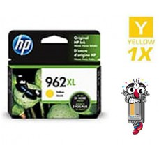 Genuine Original Hewlett Packard HP962XL High Yield Yellow Inkjet Cartridge