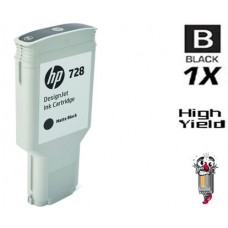 Genuine Original Hewlett Packard F9J68A HP728XL High Yield Matte Black Ink Cartridge