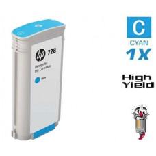 Genuine Hewlett Packard F9K17A HP728XL High Yield Cyan Ink Cartridge