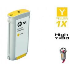 Genuine Hewlett Packard F9K15A HP728XL High Yield Yellow Ink Cartridge