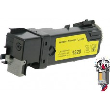 Dell KU054 (310-9062) High Yield Yellow Laser Toner Cartridge Premium Compatible