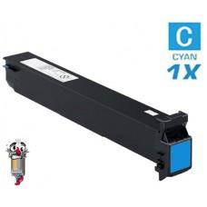 Genuine Konica Minolta A3VU430 TN711C Cyan Toner Cartridge