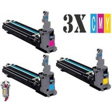 Genuine 3 PACK Konica Minolta IU-711 Imaging Unit Cartridge