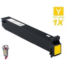 Konica Minolta A0DK232 High Yield Yellow Laser Toner Cartridge Premium Compatible