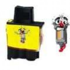 Brother LC41Y Yellow Inkjet Cartridge Remanufactured