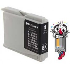 Brother LC51BK Black Inkjet Cartridge Remanufactured