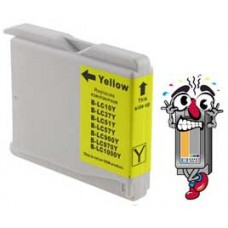 Brother LC51Y Yellow Inkjet Cartridge Remanufactured
