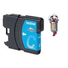 Brother LC61C Cyan Inkjet Cartridge Remanufactured