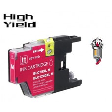 Brother LC75M High Yield Magenta Inkjet Cartridge Remanufactured