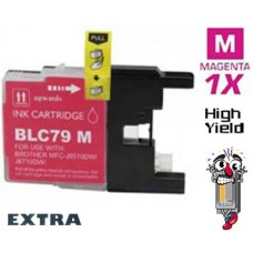 Brother LC79M Extra High Yield Magenta Inkjet Cartridge Remanufactured