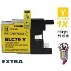 Brother LC79Y Extra High Yield Yellow Inkjet Cartridge Remanufactured