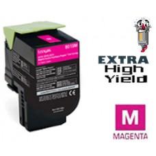 Lexmark 70C1XM0 Extra High Yield Magenta Laser Toner Cartridge Premium Compatible