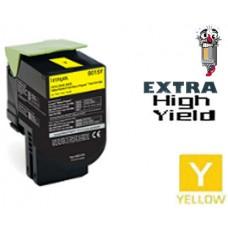 Lexmark 70C1XY0 Extra High Yield Yellow Laser Toner Cartridge Premium Compatible