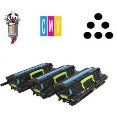 Genuine Lexmark 72K0F50 CMY Developer Kit and Photoconductors Pack 17