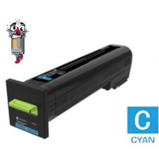 Genuine Lexmark 72K10C0 Cyan Laser Toner Cartridge