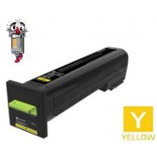 Genuine Lexmark 72K10Y0 Yellow Laser Toner Cartridge