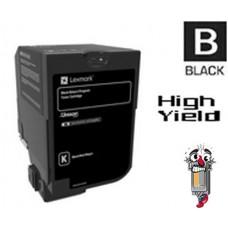 Genuine Lexmark 74C1SK0 Black Laser Toner Cartridge