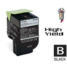 Lexmark 80C1SK0 Black Laser Toner Cartridge Premium Compatible