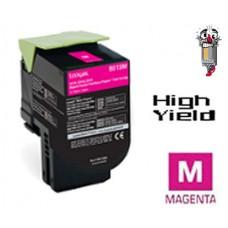Lexmark 80C1SM0 Magenta Laser Toner Cartridge Premium Compatible