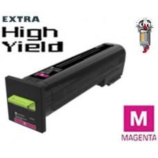 Genuine Lexmark 82K0X30 Extra High Yield Magenta Laser Toner Cartridge