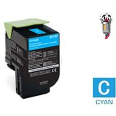 Genuine Lexmark C231HC0 Cyan High Yield Toner Cartridge