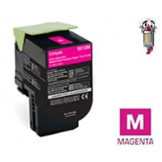 Genuine Lexmark C231HM0 Magenta High Yield Toner Cartridge