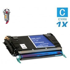 Lexmark C736H1CG High Yield Cyan Laser Toner Cartridge Premium Compatible