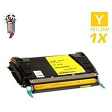 Lexmark C736H1YG High Yield Yellow Laser Toner Cartridge Premium Compatible