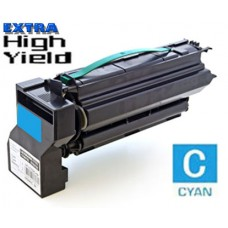 Lexmark C7720CX Extra High Yield Cyan Laser Toner Cartridge Premium Compatible