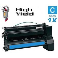 Lexmark C780H1CG High Yield Cyan Laser Toner Cartridge Premium Compatible