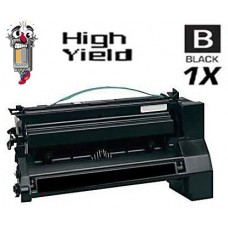 Lexmark C780H1KG High Yield Black Laser Toner Cartridge Premium Compatible