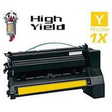 Lexmark C780H1YG High Yield Yellow Laser Toner Cartridge Premium Compatible