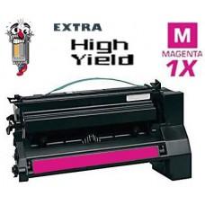 Lexmark C782X1MG Extra High Yield Magenta Laser Toner Cartridge Premium Compatible