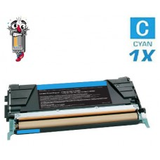 Lexmark X746H1CG High Yield Cyan Laser Toner Cartridge Premium Compatible
