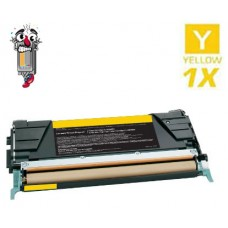 Lexmark X746H1YG High Yield Yellow Laser Toner Cartridge Premium Compatible