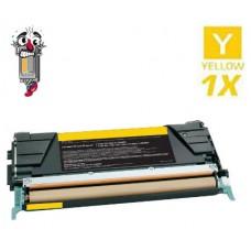 Lexmark X748H1YG High Yield Yellow Laser Toner Cartridge Premium Compatible