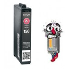 Lexmark Vizix #150XL 14N1616 High Yield Magenta Inkjet Cartridge Remanufactured