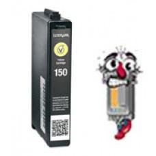 Lexmark Vizix #150XL 14N1618 High Yield Yellow Inkjet Cartridge Remanufactured