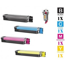 4 PACK Genuine Okidata 4291898 combo Laser Toner Cartridge