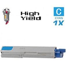 Genuine Okidata 52124003 Cyan Laser Toner Cartridge