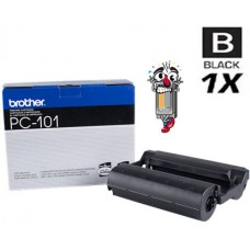 Brother PC101C Black Thermal Ribbon Premium Compatible