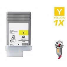 Canon PFI102Y Dye-Based Yellow Inkjet Cartridge Remanufactured
