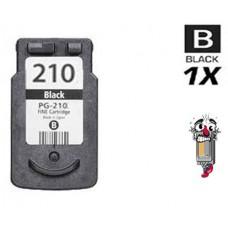 Canon PG210 Regular High Yield Black Inkjet Cartridge Remanufactured