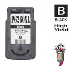 Canon PG260XL Black Inkjet Cartridge Remanufactured