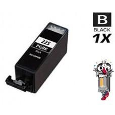 Canon PGI225BK Pigment Black Inkjet Cartridge Remanufactured