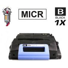 Hewlett Packard Q5945A HP45A Black MICR Laser Toner Cartridge Premium Compatible